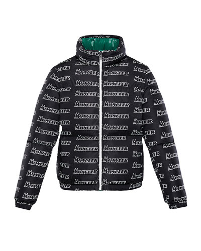 Neal Logo-Text Puffer Coat  Size 4-6 and Matching Items