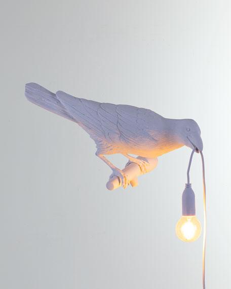Seletti Bird Lamp Playing Outdoor