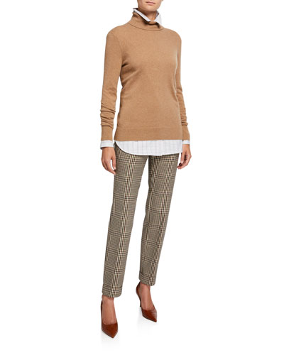 Cashmere Turtleneck Sweater and Matching Items