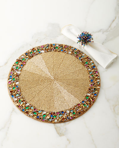 Crochet Edge Napkin and Matching Items