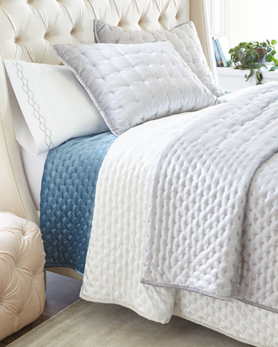 Marcus Velvet Full/Queen Coverlet  and Matching Items