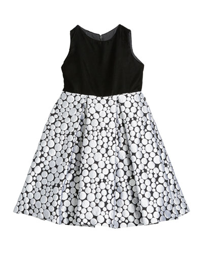 Girl's Bubble Brocade Skirt w/ Velvet Top Dress  Size 12M-3 and Matching Items