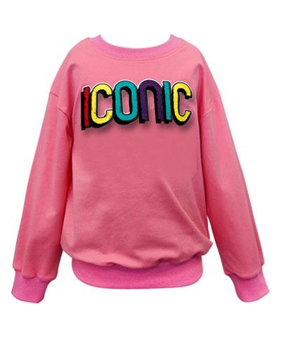 Girl's Iconic Sweatshirt  Size 4-6X  and Matching Items