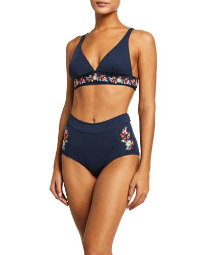 Golda Triangle Swim Top and Matching Items