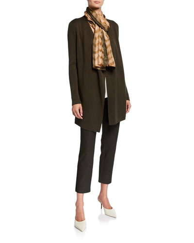 Petite Isla Floral Embroidered Draped Cardigan and Matching Items