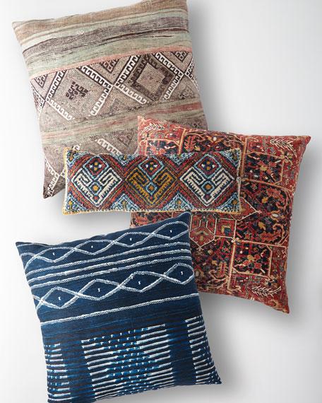 """Ethnic Lumbar Pillow, 13"""" x 35"""""""