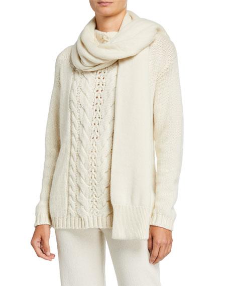 Agnona Cashmere Knit Joggers