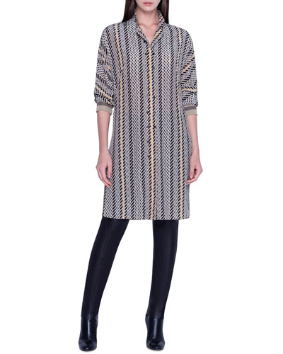 Striped Tunic Dress and Matching Items