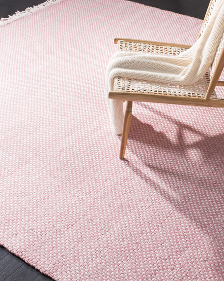 Lauren Ralph Lauren Amalie Pink Hand-Woven Flat Weave Rug, 5' x 8'