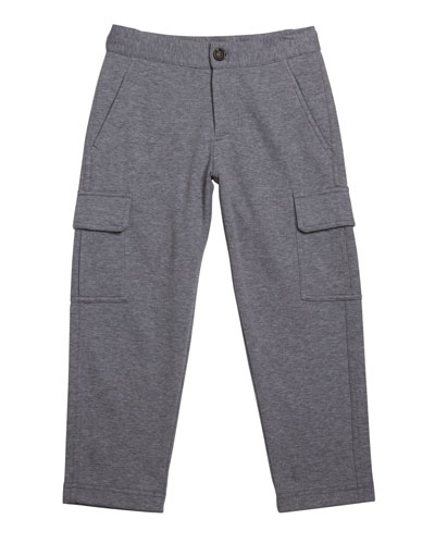 Boy's Felpa Cargo Sweatpants  Size 4-6 and Matching Items