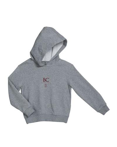 Boy's Heathered Felpa Hoodie Sweatshirt, Size 4-6 and Matching Items