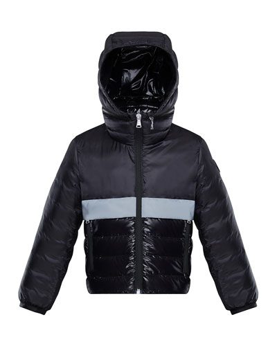 Boy's Verdun Reflective Tape Hooded Jacket, Size 4-6  and Matching Items