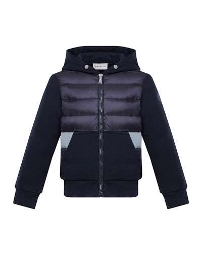 Boy's Puff Front Hooded Jacket, Size 4-6  and Matching Items