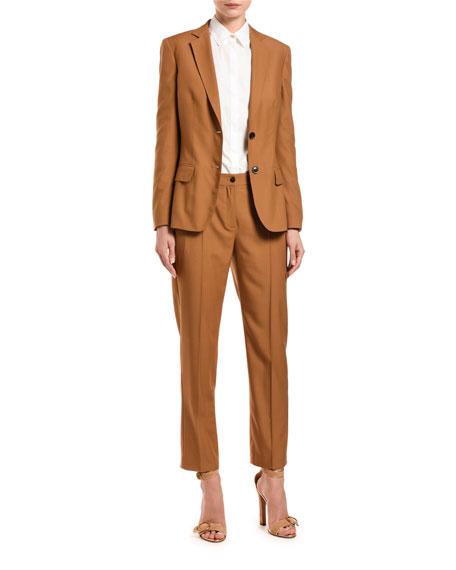 Agnona Wool Tailored Jacket