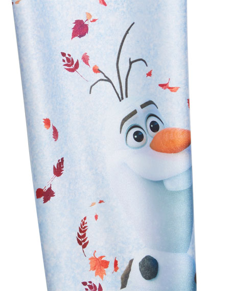 Terez Frozen 2 Olaf Leggings, Size 4-6X