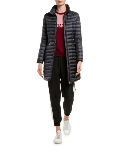 Sable Channel-Quilt Puffer Coat and Matching Items
