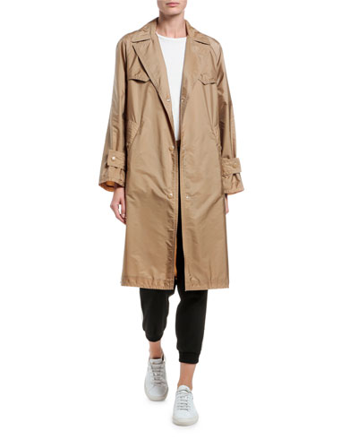 Vanille Long Raincoat and Matching Items
