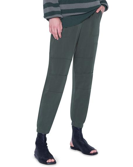 Akris punto Colorblock Knit Turtleneck Sweater