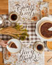 Hester & Cook Give Thanks Table Setting Decor Collection