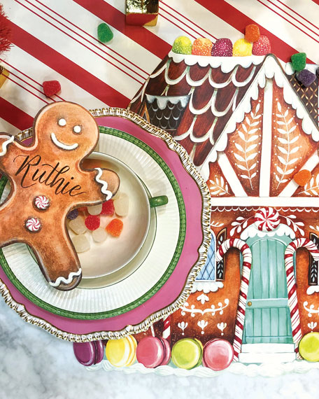 Hester & Cook Gingerbread Table Setting Decor Collection