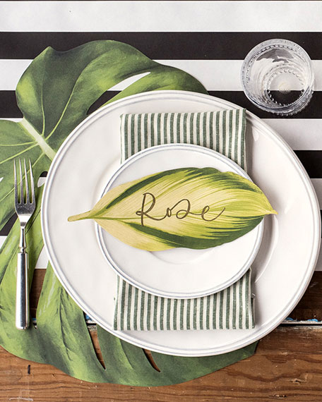 Hester & Cook Stripe Paper Table Runner