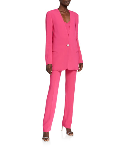 Stretch Cady Jacket and Matching Items