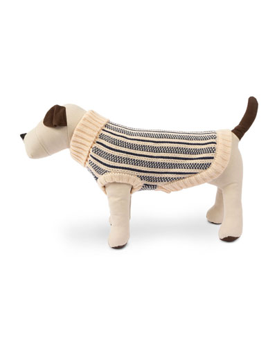 Cabin Stripe Knit Dog Sweater  Small and Matching Items