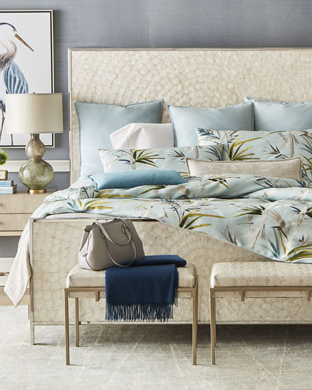Fino Lino Linen & Lace Tropical King Duvet
