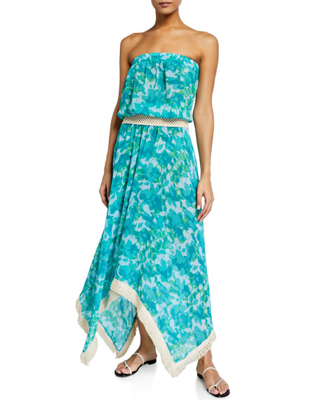 Ramy Brook Yanni Floral Print Dress