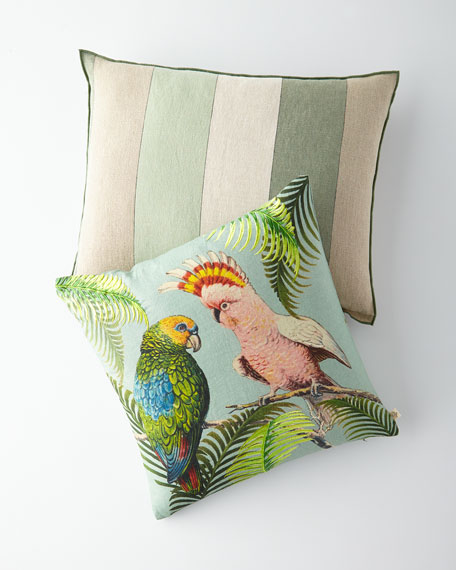 Designers Guild Brera Gessato Natural Pillow