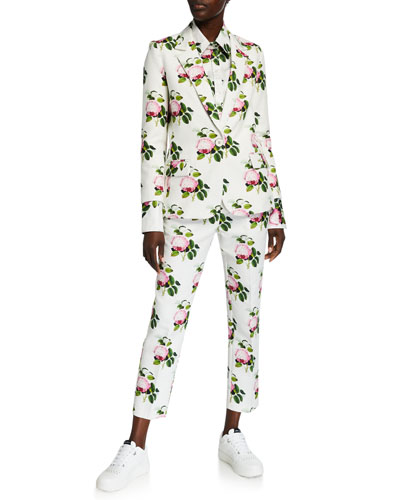 English Garden Print Blazer and Matching Items