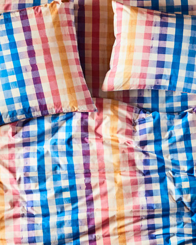 Across The Border Cotton Duvet Cover - King and Matching Items