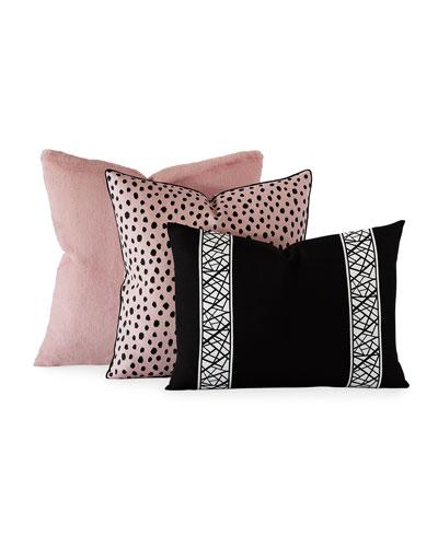 Spectator Blush Decorative Pillow  and Matching Items