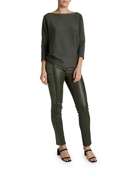 Maison Ullens Cashmere Batwing Sleeve Easy Sweater
