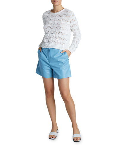 Macrame Crewneck Sweater and Matching Items