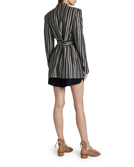 Stella McCartney Adelaide Tailored Cotton-Silk Jacket