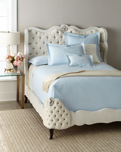 Angelica Tufted Queen Bed  and Matching Items