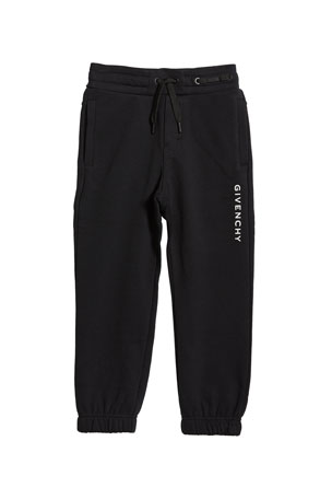 Givenchy Boy's Logo Mini Me Sweatpants, Size 12-14 Boy's Logo Mini Me Sweatpants, Size 6-10 Boy's Logo Mini Me Sweatpants, Size 4