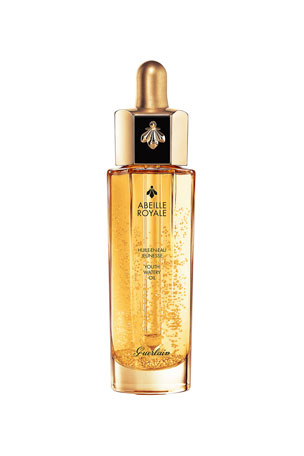 Guerlain 1 oz. Abeille Royale Youth Watery Anti-Aging Oil, 1 oz./ 30 mL 0.5 oz. Abeille Royale Anti-Aging Youth Watery Facial Oil 1.6 oz. Abeille Royale Youth Watery Anti-Aging Oil