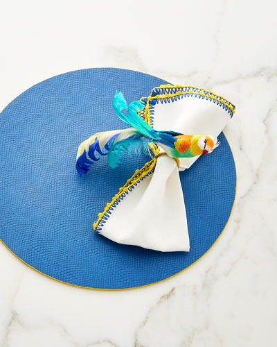 Knotted Edge Napkin  and Matching Items