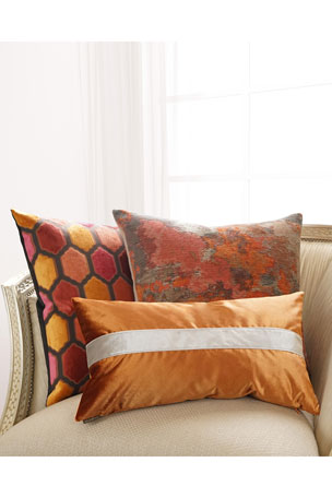 D.V. Kap Home Mallorca Sunset Decorative Pillow Spray Paint Decorative Pillow
