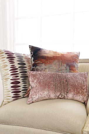 D.V. Kap Home Stonewash Blush Decorative Pillow Havana Decorative Pillow