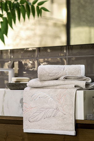 Togas Perla Gray Bath Towel Perla Gray Hand Towel