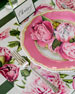 Image 2 of 2: Hester & Cook Peonies in Bloom Placemats