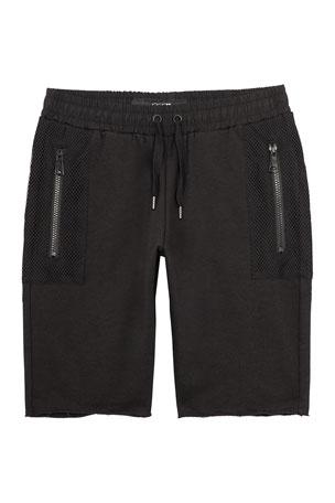 Joe's Jeans Boy's Contrast Stripe Shorts, Size 4-7 Boy's Contrast Stripe Shorts, Size S-XL