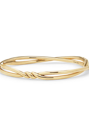 David Yurman Continuance Center Twist Bracelet in 18K Gold. Size M Continuance Center Twist Bracelet in 18K Gold, Size L