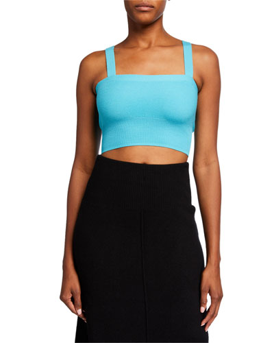 Cropped Knit Cami