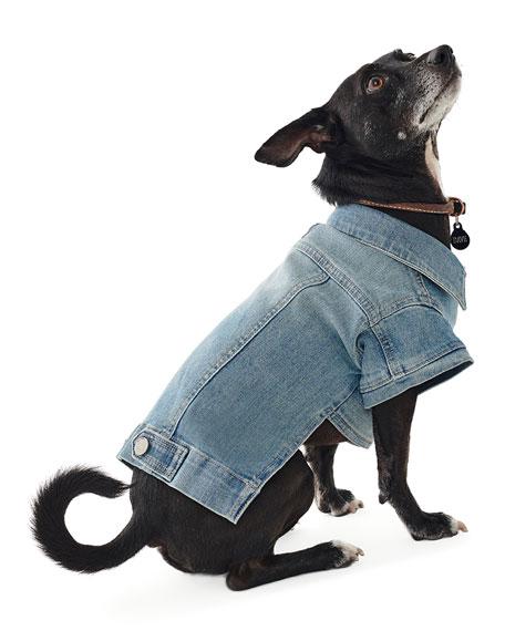 DL1961 Premium Denim Fido Dog Trucker Jacket
