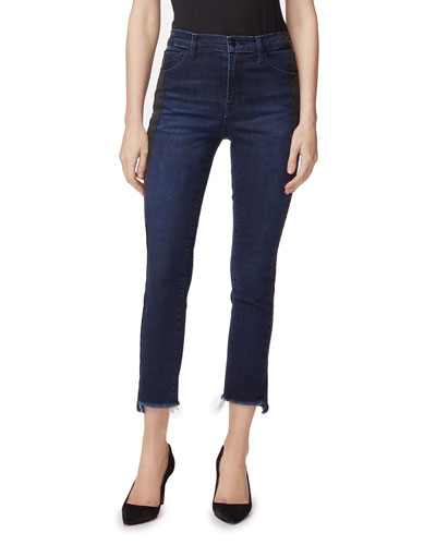 Ruby High-Rise Crop Cigarette Jeans