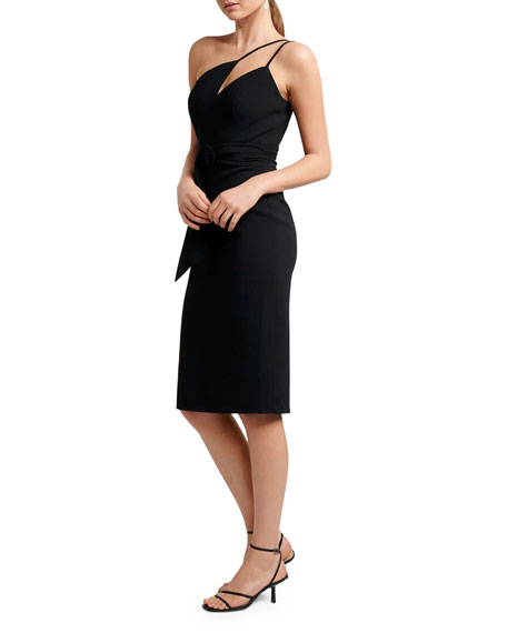 Image 2 of 4: Ever New Asymmetric One-Shoulder Bodycon Dress